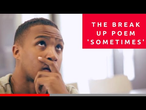 The Break Up Poem 'sometimes' || Spoken Word || Available On Itunes || video