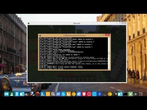 como dar permisos o comandos a usuarios con PermissionsEx [plugins bukkit][2013][Nuevo]