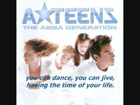 A Teens - Dancing Queen   Lyrics