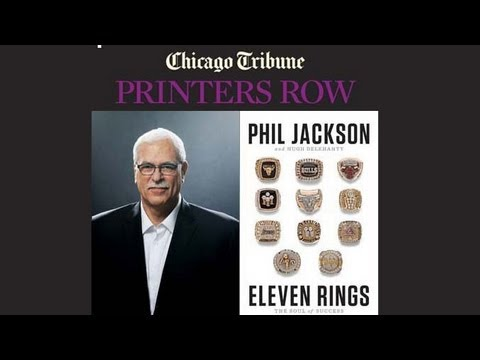 Phil Jackson interviewed by Chicago Tribune's K.C. Johnson: Printers Row live event