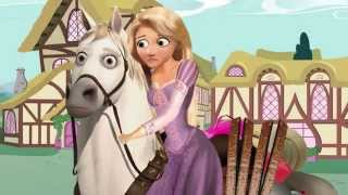 Rapunzel Meets My Little Pony