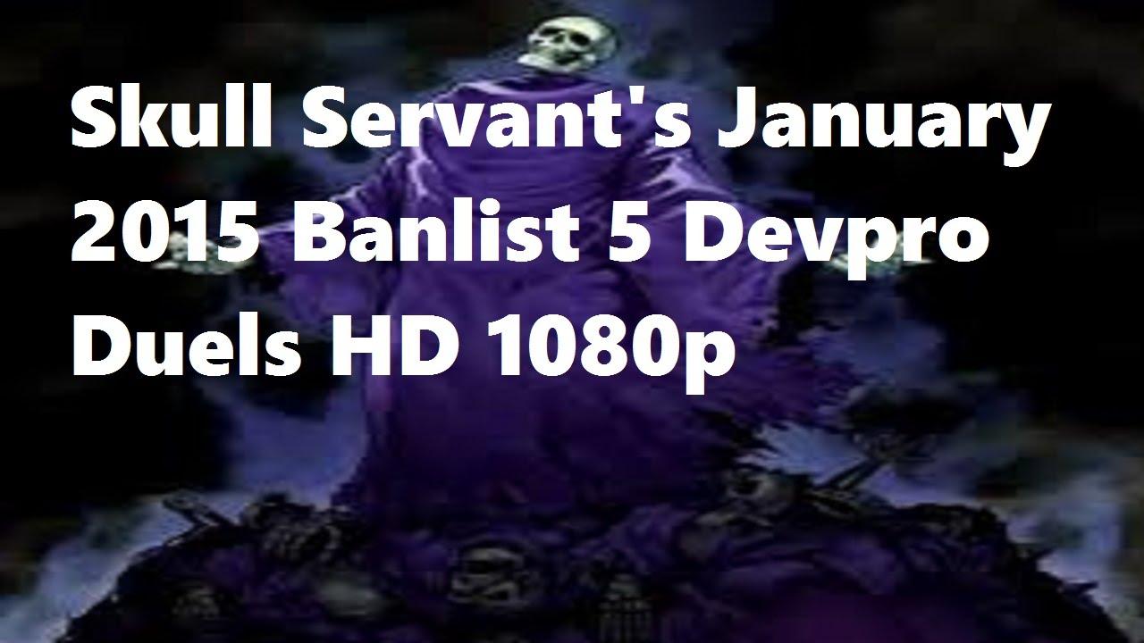 Yugioh Skull Servant Deck Yugioh Skull Servants January