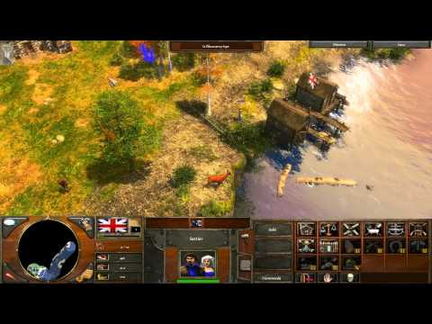Age Of Empires III Test Gameplay MAX Settings [Nvidia 9400GT] [HD]