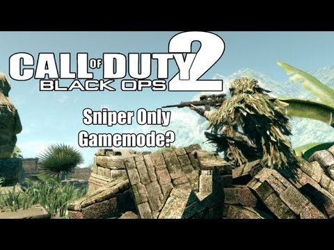 BLACK OPS 2: Snipers Only Gamemode