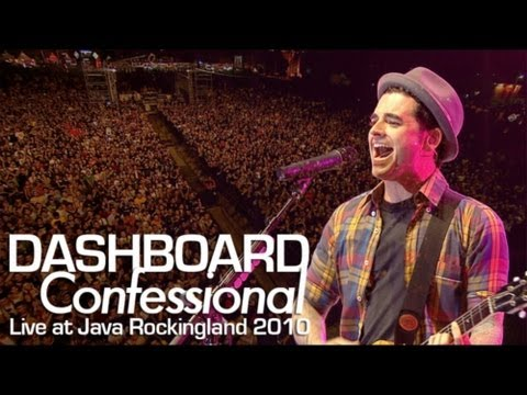 Dashboard Confessional vindicated Live At Java Rockingland 2010 video