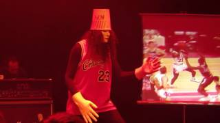 Buckethead  - Robot Dance at Park West Chicago 4-25-16