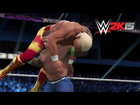 Next Gen Wwe 2k15 Fantasy Showdown - Hulk Hogan Vs. John Cena video