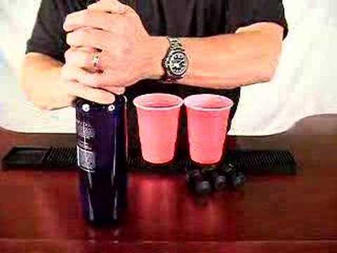 Snap Cap Liquor Pourer - Demo