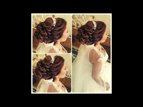 Причёски на свадьбу для невесты пошагово