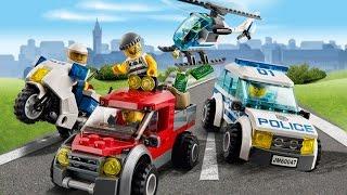 Trò chơi Lego City phần 1 - Lái xe cảnh sát bắt cướp cu lỳ chơi game vui nhộn