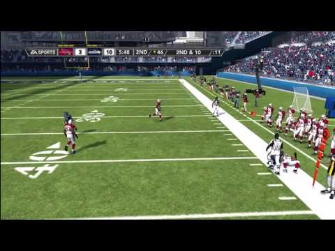 Madden NFL 12 Seahawks Franchise | [Y1G3] Marshawn Lynch BEAST MODE