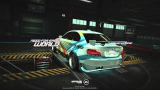 Need For Speed World Year 4 Celebration Free BMW 135i Coupe Flexor Art Director Code (24 July 2014)