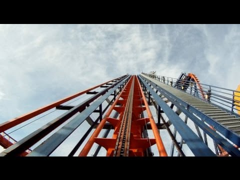 SheiKra POV Busch Gardens Tampa B&M Dive Machine Roller Coaster On-Ride