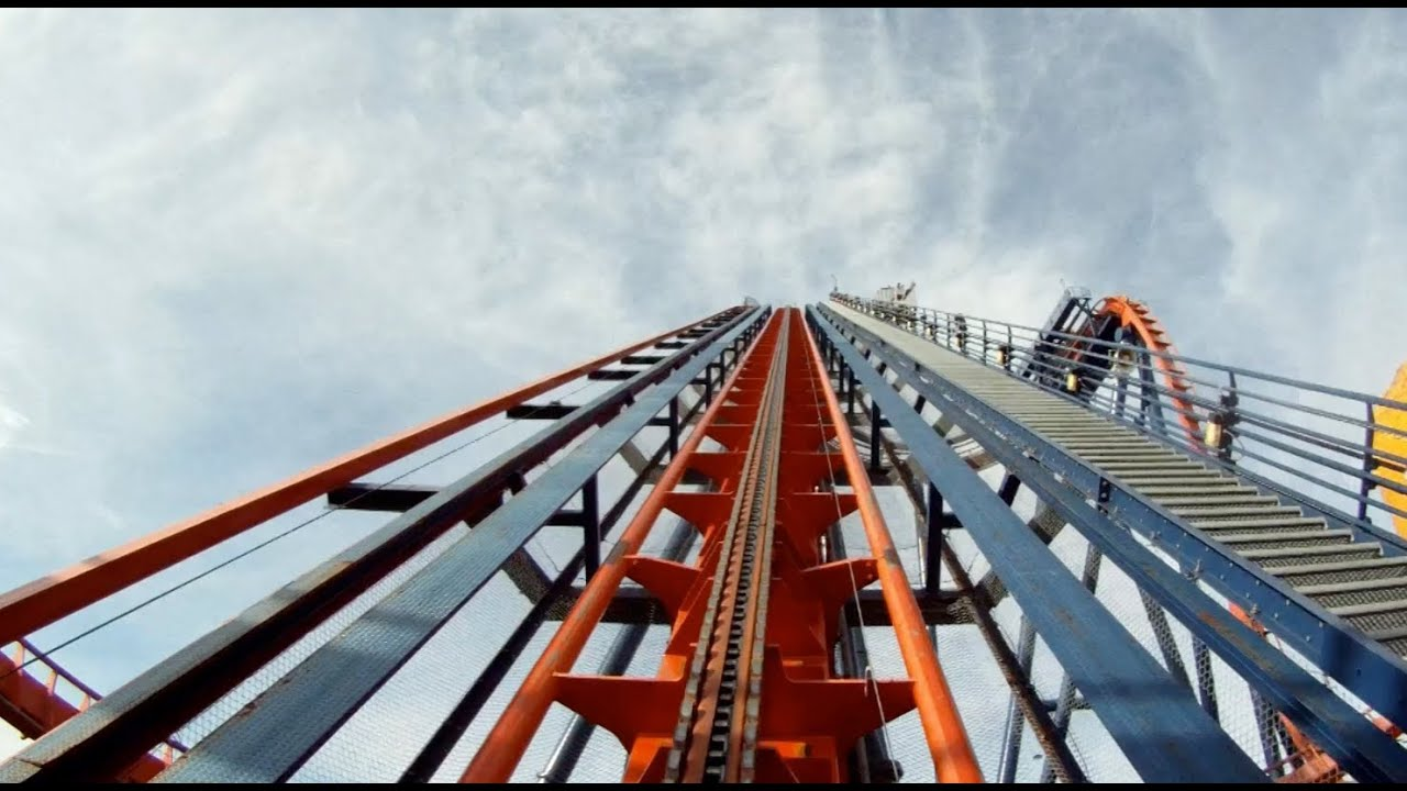 Sheikra Pov Busch Gardens Tampa B M Dive Machine Roller Coaster On Ride Youtube