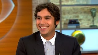 """Big Bang Theory"" star Kunal Nayyar on his accent, new book and family"
