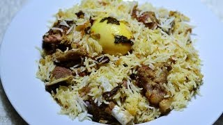 Hyderabadi Mutton Biryani @ Guru's Cooking