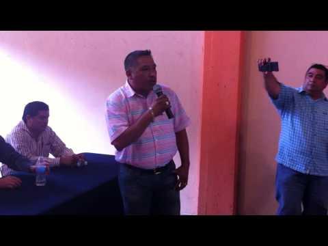 Andrés Santiago Parada toma protesta como líder de la CTM en Tuxtepec