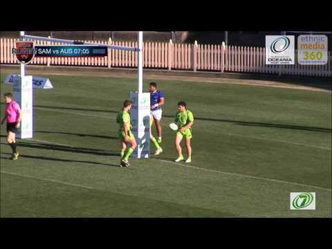 Oceania Sevens  2012  FINALS - Samoa vs Australia