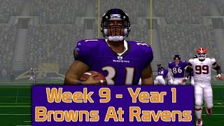 ESPN NFL 2K5 - Cleveland Browns At Baltimore Ravens - Week 9