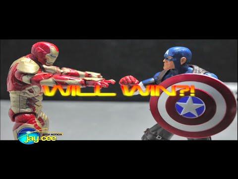 Guest Video: Captain America VS Iron Man Marvel Legends OfficialJaycee311