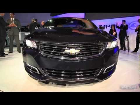 2014 Chevy Impala - 2012 New York Auto Show