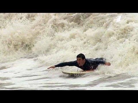 Серфинг в Сочи. 2013