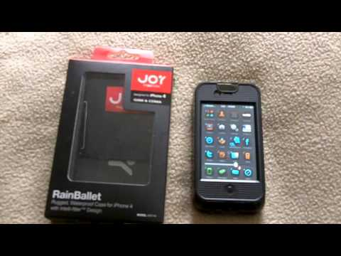Full Review of The Joy Factory s RainBallet Waterproof Case for iPhone 4
