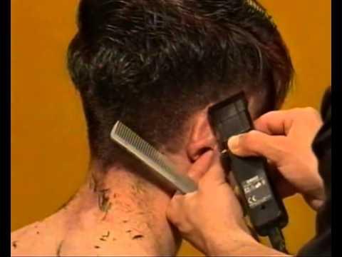 Видеоурок мужская модельная стрижка - видео