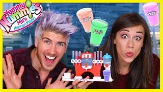 MAKING CANDY SODA W/ Colleen! - YUMMY NUMMIES