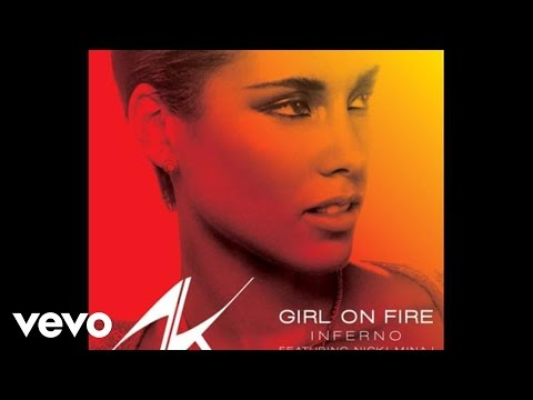 Alicia Keys - Girl On Fire (inferno Version) (audio) Ft. Nicki Minaj video