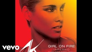Alicia Keys Girl On Fire Inferno Version Audio Ft Nicki Minaj