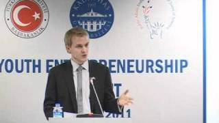 Special Adviser for Global Youth Issues Ronan Farrow is at the II. Global Entrepreneurship Summit
