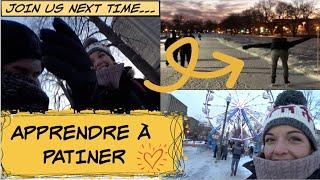 [VLOG] : 3 ACTIVITÉS À FAIRE AU QUÉBEC EN HIVER !! Nourriture, Visite, Patins, on vous montre tout !