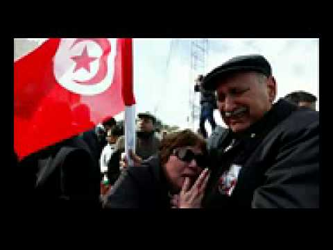 Tunisians mourns at funeral of Chokri Belaid
