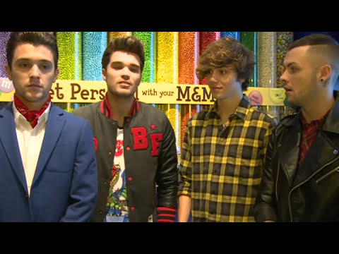 Union J talk X Factor judges, videos and bad jokes