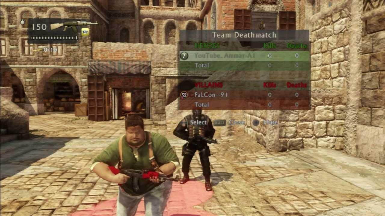 Uncharted 3 Multiplayer  Uncharted 3  Online