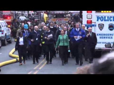 Harlem Explosion Kills Three, Levels Buildings