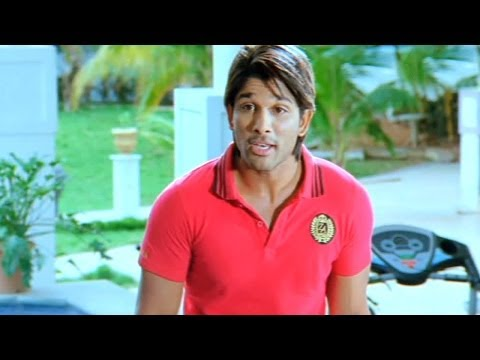Race Gurram Hero Allu Arjun Talking To His Parents About Arranged Marriage - Varudu Scenes video