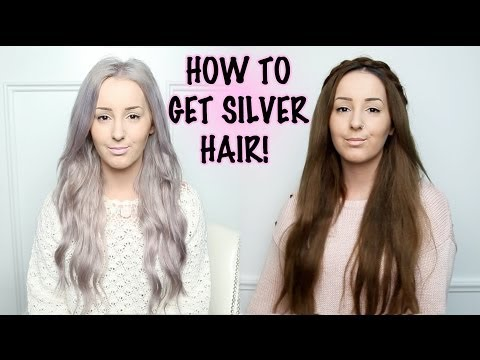 Silver Hair Tutorial! | by tashaleelyn