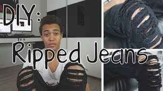 DIY: Ripped Jeans selber machen !