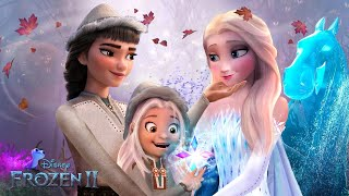 Frozen 2: Elsa has a wife and daughter! They live surrounded by the magical spirits! ❄💙 Alice Edit!