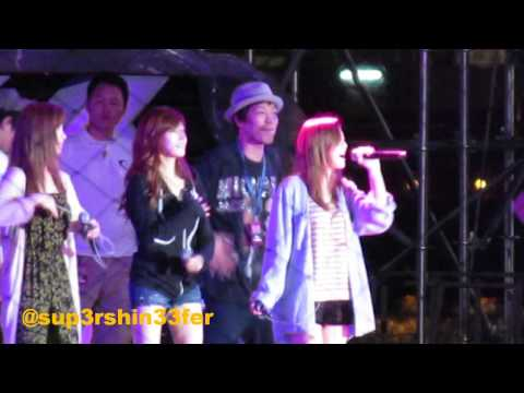 [HD Fancam] 121122 SMTOWN SG REHEARSAL- TaeTiSeo - TWINKLE