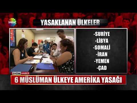 6 Müslüman ülkeye Amerika yasağı