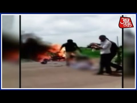 VIDEO: Youth Charred To Death After Bike Accident