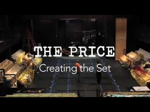 Triad Stage - The Price: Behind the Scenes Set Build