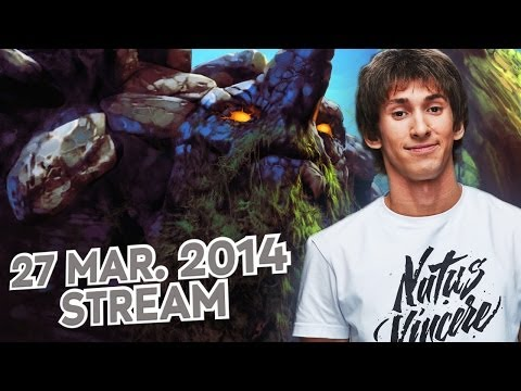 Dota 2 Stream: Na`Vi Dendi - Tiny (Gameplay & Commentary)