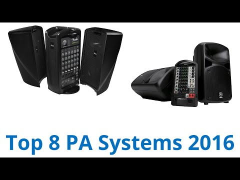 8 Best PA Systems 2016