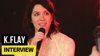 "K.Flay her on her new album, ""Solutions"""