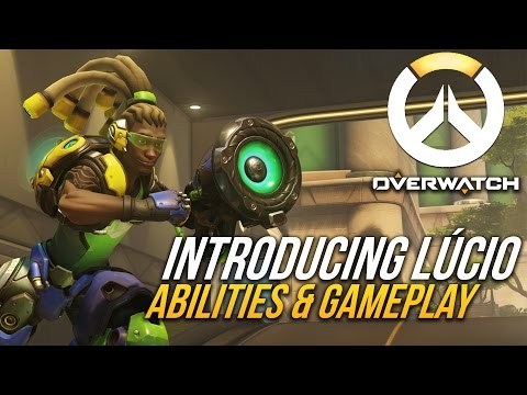 INTRODUCING LÚCIO: BRAND NEW, NEVER-BEFORE-SEEN OVERWATCH CHARACTER!