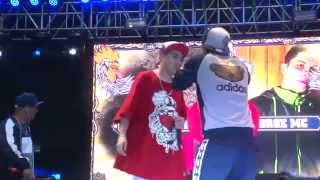 JORGE MC VS CRISTOFEBRIL | SEMIFINAL RED BULL BATALLA DE LOS GALLOS  FINAL NACIONAL CHILE 2015